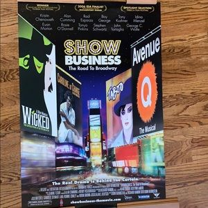 """Show Business, The Road to Broadway"" poster 2006"